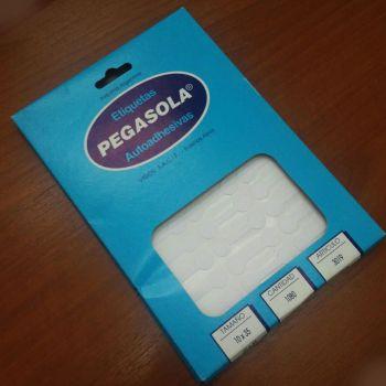 caja etiquetas adhesivas