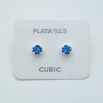 Aros Pasante Cubic Redondo 6mm