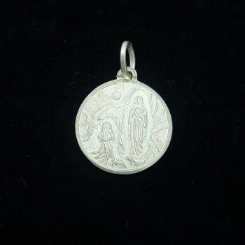 Dije Medalla Virgen de Lourdes